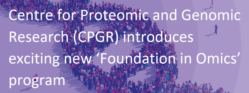 CPGR hosts first in a new series of Foundations in Omics courses at Central University of Technology